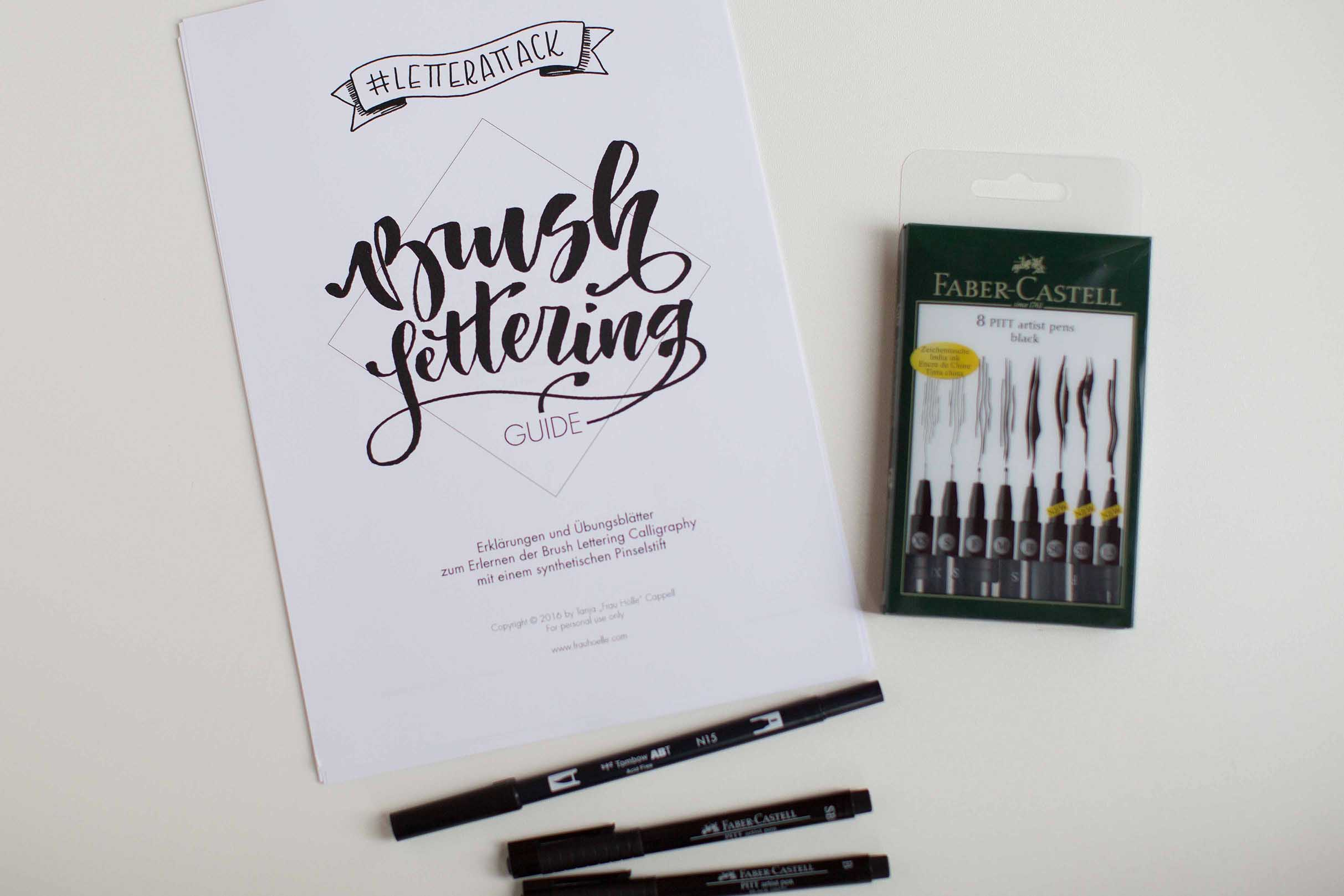 Brush Lettering lernen