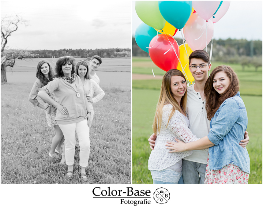 Familienshooting Outdoor Color-Base Fotografie